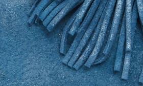 Denim Metallic Suede swatch image