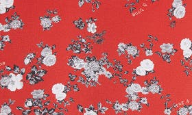 Red Garden Floral swatch image