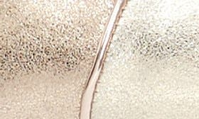 Silver/ Gold Leather swatch image