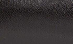 Black/ Black Leather swatch image