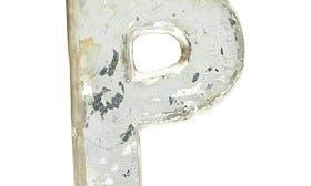 Metallic Silver P swatch image