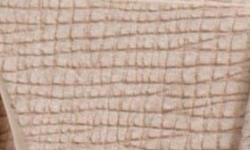 Sand Nubuck Leather swatch image