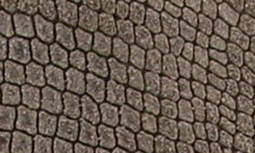 Taupe Embossed Suede swatch image