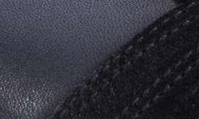 Black Leather/Suede swatch image