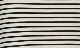 Black/Ivory Pinstripe swatch image