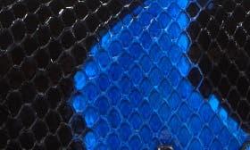Noir/ Blue swatch image