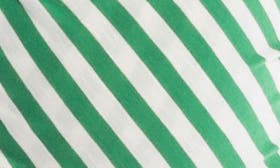 Green/ Ivory Stripe swatch image
