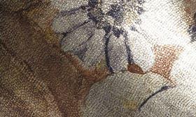 Metallic Brocade Leather swatch image