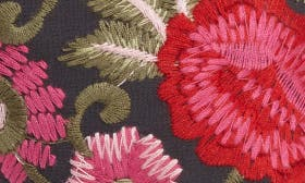 Pink Floral Embroidery swatch image