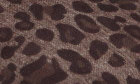 Black Leopard Fabric swatch image