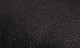 Black Olmo Leather swatch image