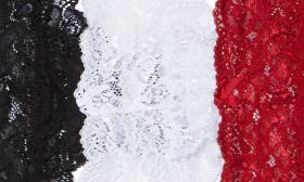 Black/ White/ Scarlet swatch image