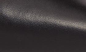 Black Mestico Leather swatch image