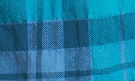 Crinkle Navy Plaid swatch image