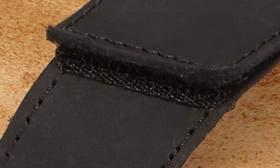 Oily Coal Nubuck swatch image