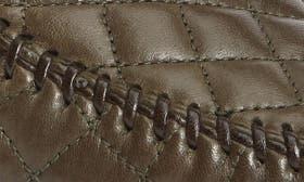Khaki Leather swatch image