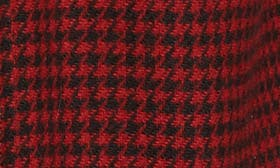 Red/ Black Houndstooth swatch image