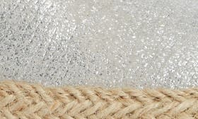 Sparkling Silver Leather swatch image