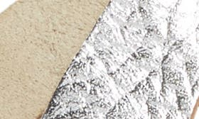 Grey Volcano Leather swatch image