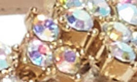 Platinum Gold Metallic Suede swatch image