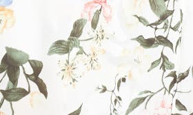 White Floral swatch image