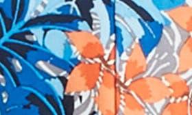 Floral Zebra Blue swatch image