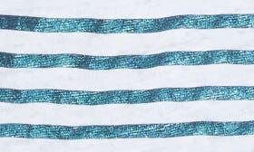 Blanc/ Turquoise swatch image