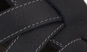 Dark Navy Leather swatch image