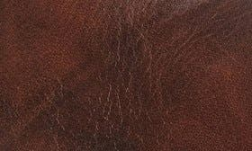 Cognac Mighty Greased Leather swatch image