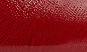 Deep Red Faux Leather swatch image