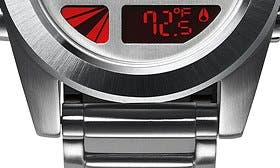Silver/ Red swatch image