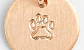 14K Rose Gold Fill Paw swatch image