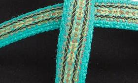 Florida Keys Green Fabric swatch image