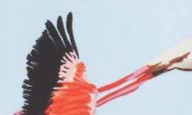 Flying Flamingo Print swatch image