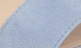 Powder Blue Leather swatch image