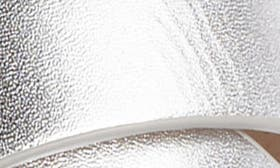 Sterling Metallic Leather swatch image