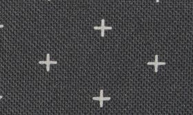 Black Gridlock/ Black Leather swatch image