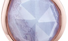 Blue Lace Agate/ Rose Gold swatch image