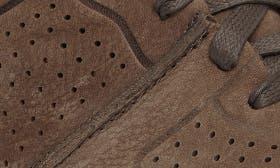 Slate Nubuck Leather swatch image