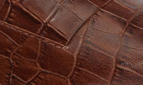 Whiskey Croc Leather swatch image
