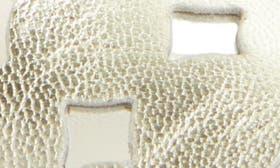 Platino Metallic Nappa swatch image