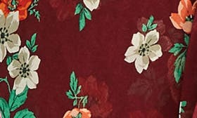 Burgundy Print swatch image