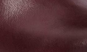 Wine Burnished Nubuck Leather swatch image