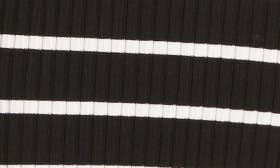 Black With Ivory Stripe swatch image