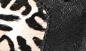 Cheetah Print Brahma Hair swatch image