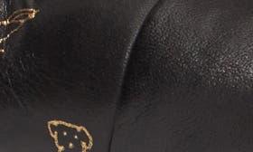 Black/ Gold Print swatch image