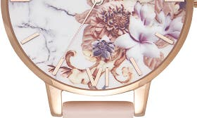 Nude Peach/ Floral/ Rose Gold swatch image