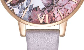 Grey Lilac/ Floral/ Rose Gold swatch image