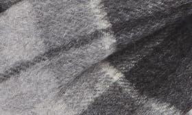 Grey Sleet - Blue Plaid swatch image