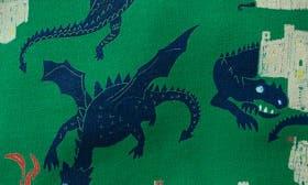 Crocodile Green Dragons swatch image